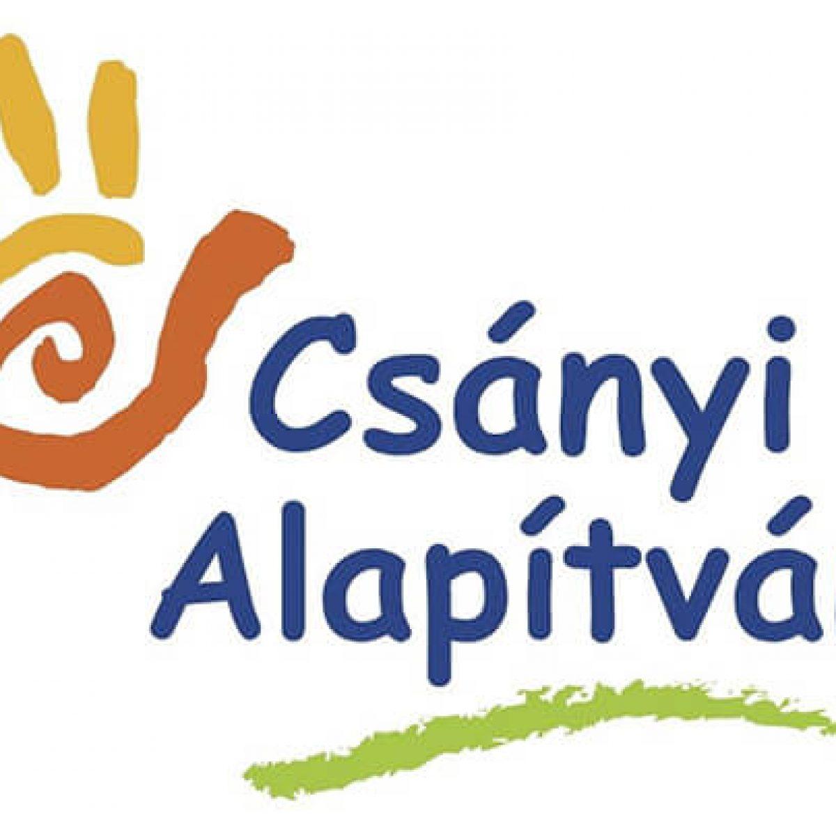 Csányi alapítvány logó